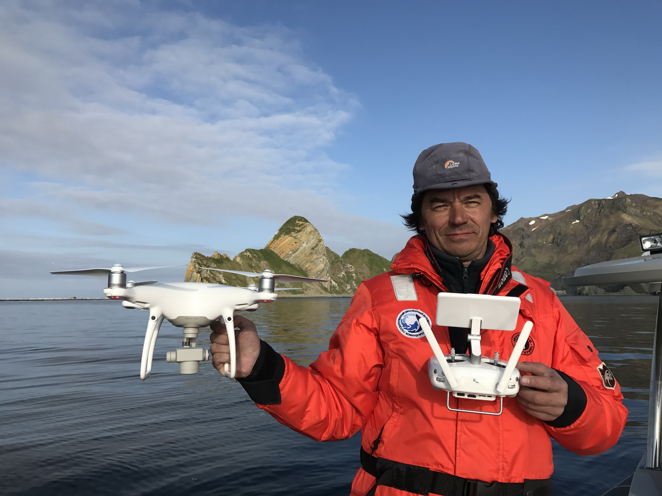 The Commander Islands Reserve Uses Drone for Harbor Seal Counts for the First Time