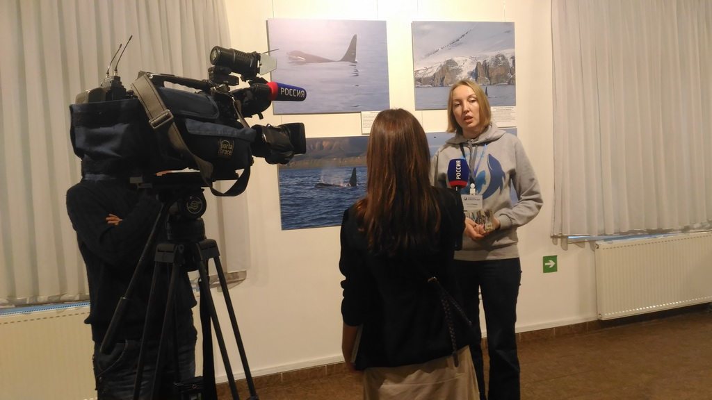 Photo show opening in the Museum of the World Ocean in Kaliningrad