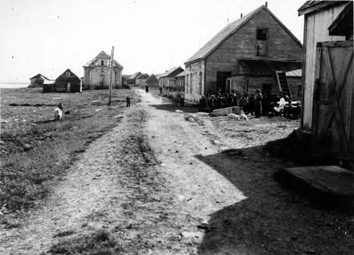 Главная улица с. Никольского