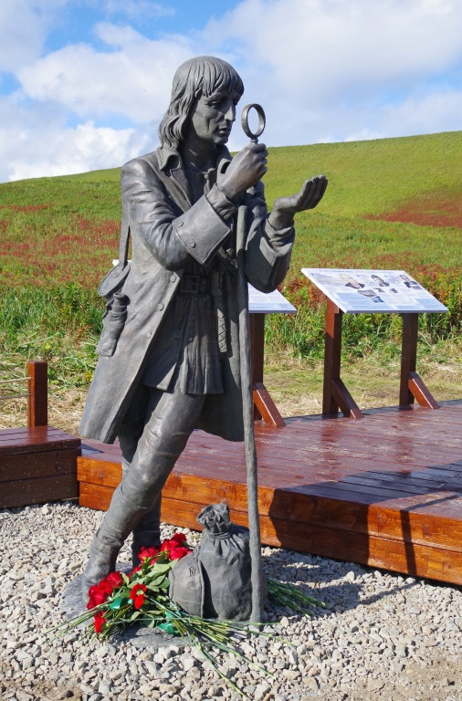 скульптура Георг Вильгельм Стеллер