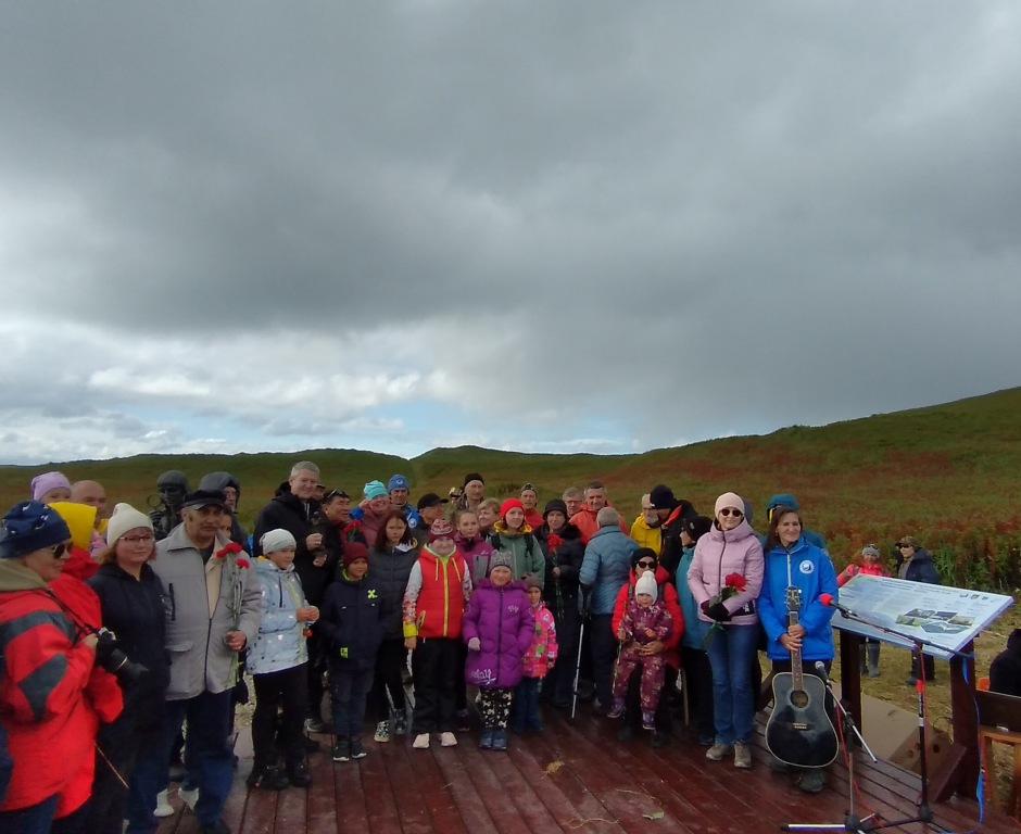 жители и гости на острове Беринга